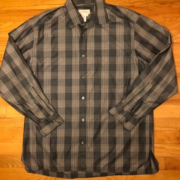 2a0677ed Ermenegildo Zehra button down shirt NWOT size L